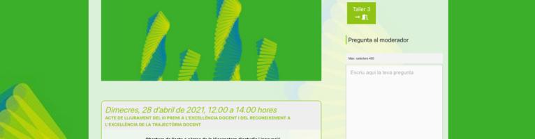 III Jornada d'Innovació Docent – Universitat Autònoma de Barcelona